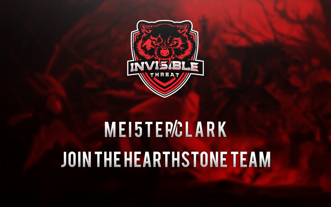 Clark and MEI5TER join the Hearthstone Division