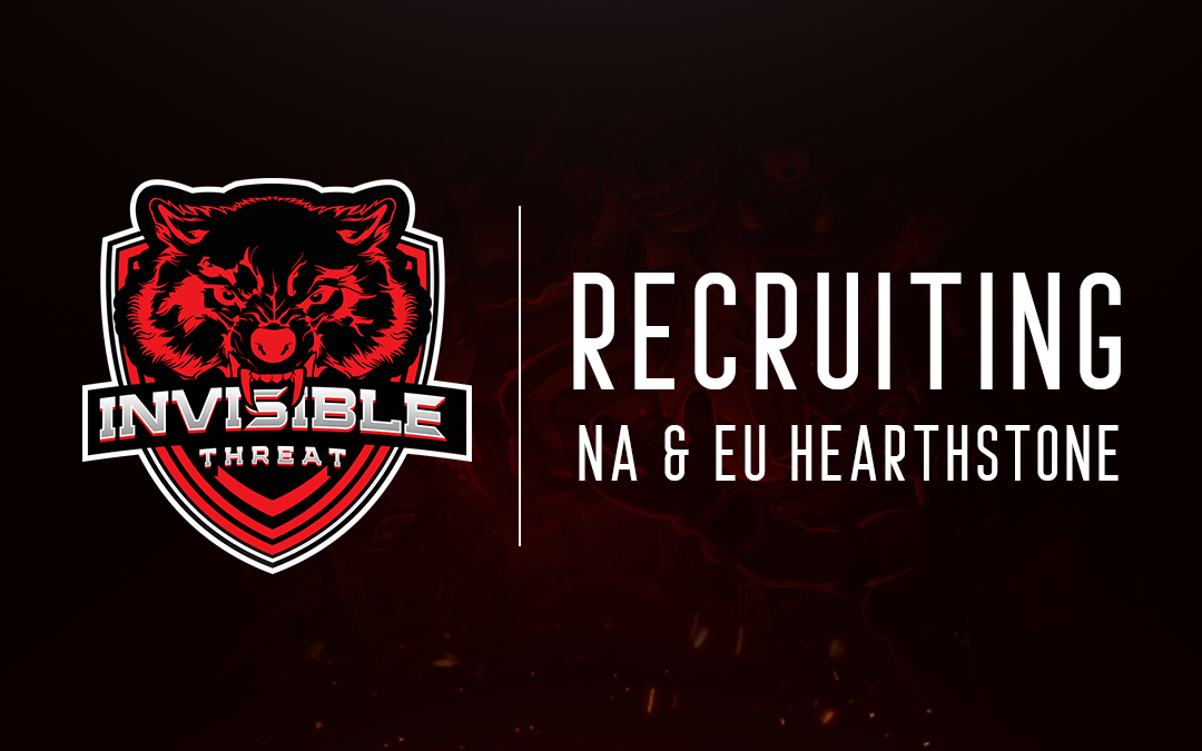 NA/EU Hearthstone – recruiting new members